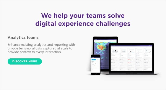 the Clicktale form analytics tool