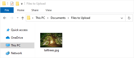see file name extensions
