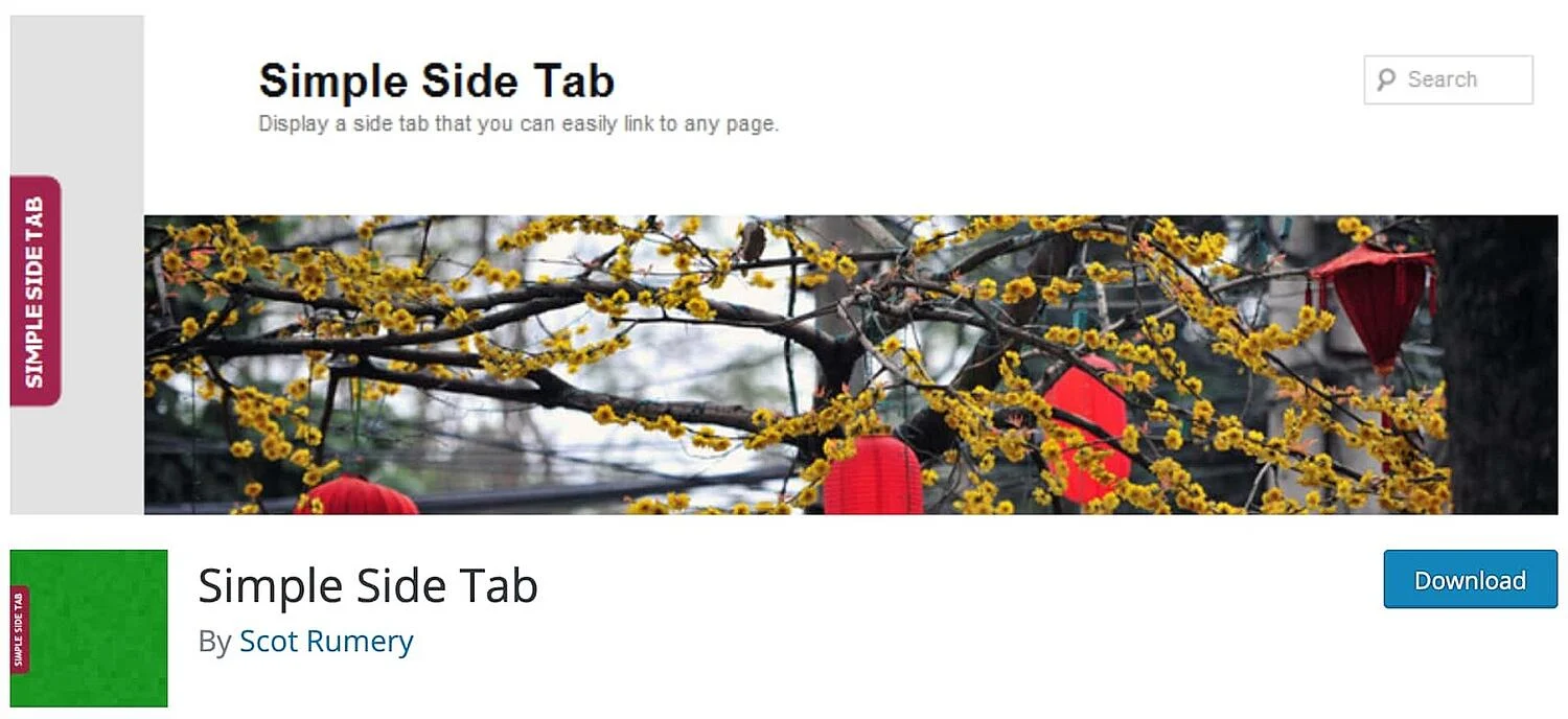 Simple Site Tab interface