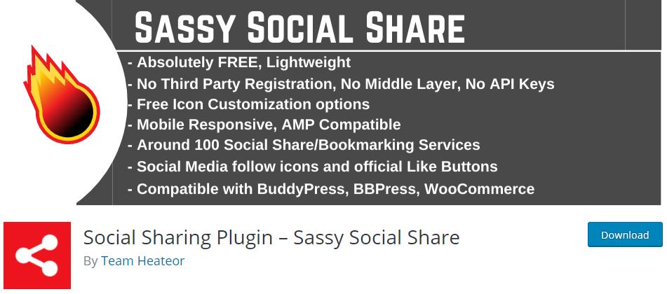 sassy social share plugin