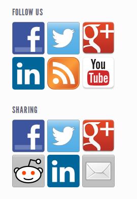 wordpress social media plugin icons