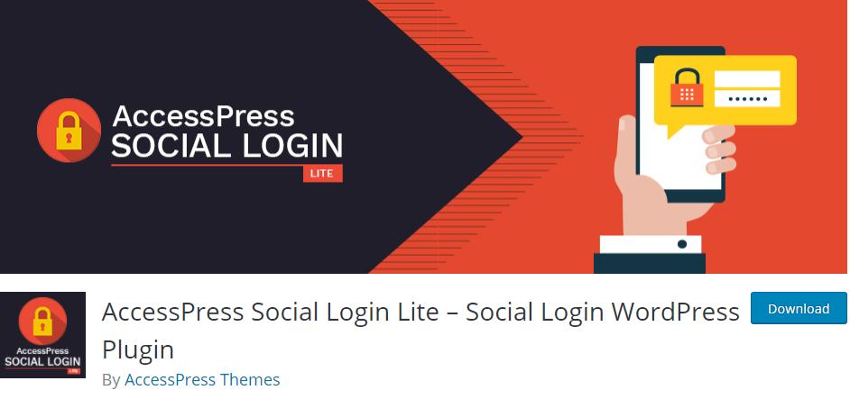 AccessPress Social Login Lite