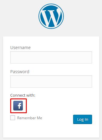 facebook social login on WordPress